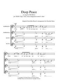 Deep Peace - SSAA a cappella (unaccompanied) women's choir