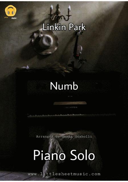 Download Numb (Piano Solo) Sheet Music By Linkin Park