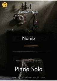 Download Numb (Piano Solo) Sheet Music By Linkin Park - Sheet Music Plus