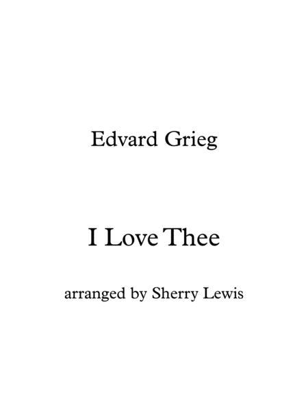 I Love Thee STRING TRIO (for string trio)