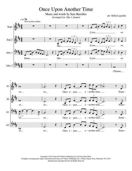 Once Upon Another Time-SSAA with Alto 1 feature