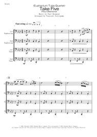 <Euphonium/Tuba Quartet> Take Five (Paul Desmond)