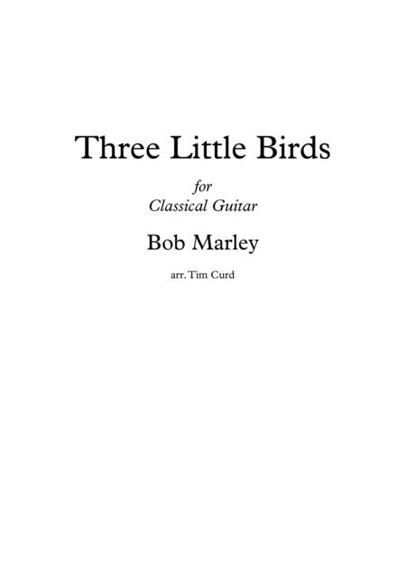 Three Little Birds. For Guitar