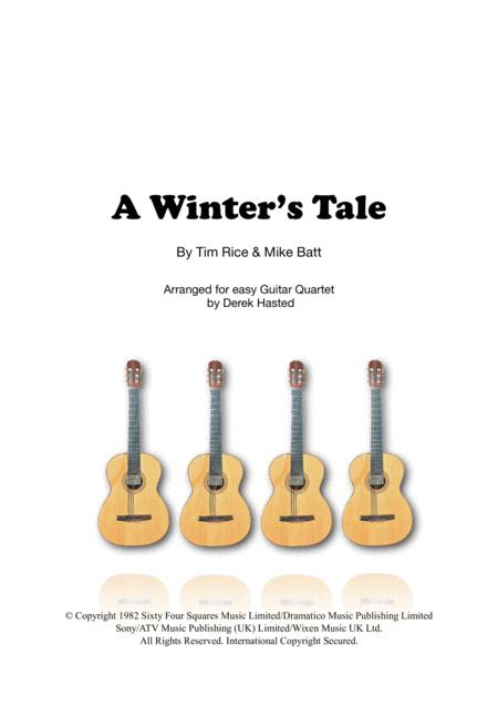 A Winter's Tale - 4 guitars or large ensemble