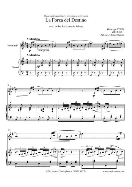 Forza del Destino - French Horn