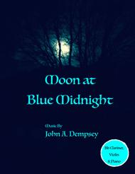 Moon at Blue Midnight (Trio for Clarinet, Violin and Piano)