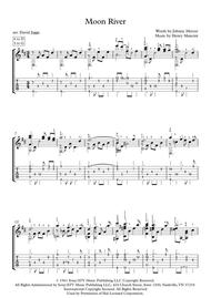 Moon River (including tablature)