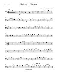 download i belong to glasgow sheet music by will fyffe sheet music plus. Black Bedroom Furniture Sets. Home Design Ideas