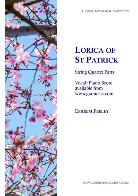 Lorica of St Patrick - string quartet parts