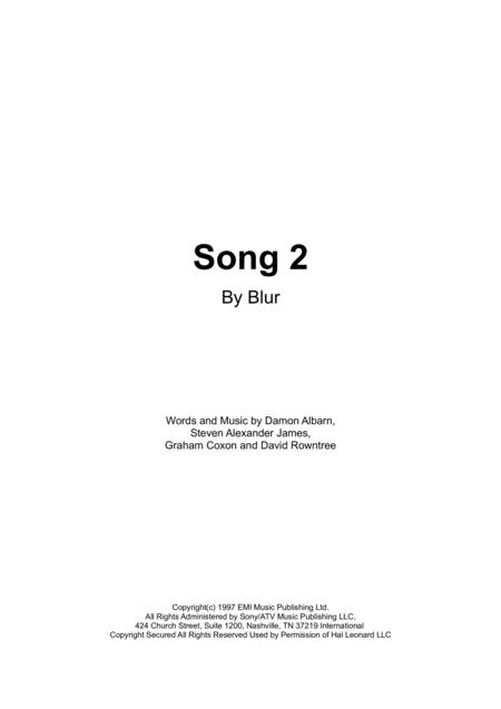 Song 2