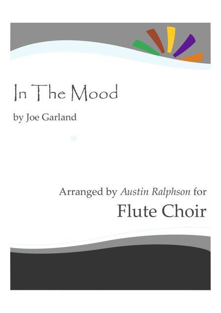 In The Mood - flute choir / flute ensemble