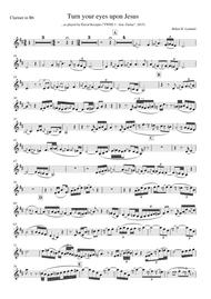 Turn your eyes upon Jesus (clarinet in Bb)