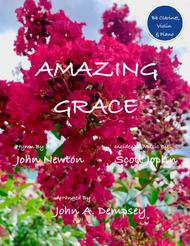 Amazing Grace / The Entertainer (Trio for Clarinet, Violin and Piano)
