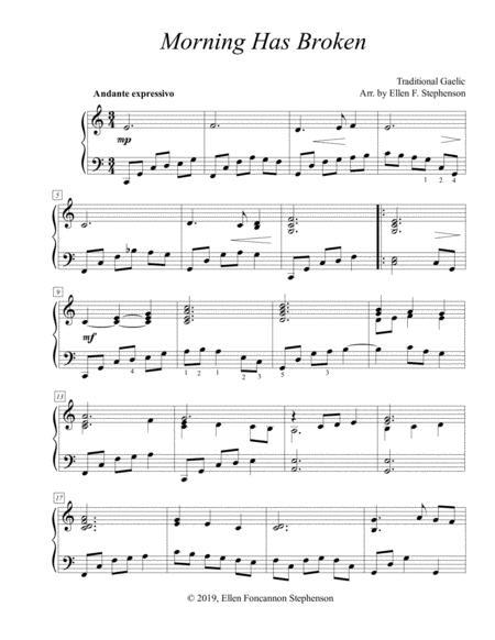 Morning Has Broken (piano solo)