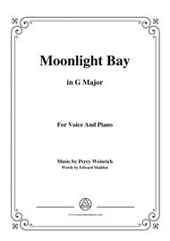Percy Wenrich-Moonlight Bay,in G Major,for Voice and Piano