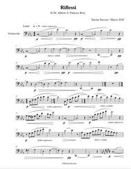 Riflessi for Cello Solo
