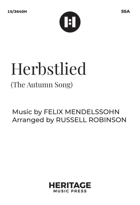 Herbstlied (The Autumn Song)