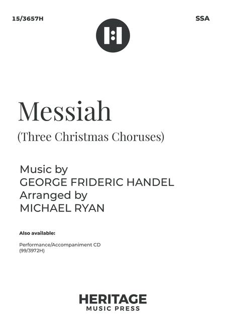 Messiah (Three Christmas Choruses)