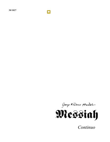 Messiah - Continuo