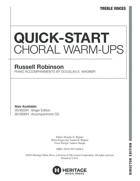 Quick-Start Choral Warm-Ups - Director Edition for Treble Voices