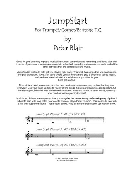 Preview JumpStart - Trumpet/Cornet/Baritone TC By Peter