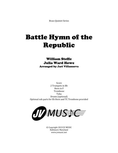 Battle Hymn of the Republic for Brass Quintet