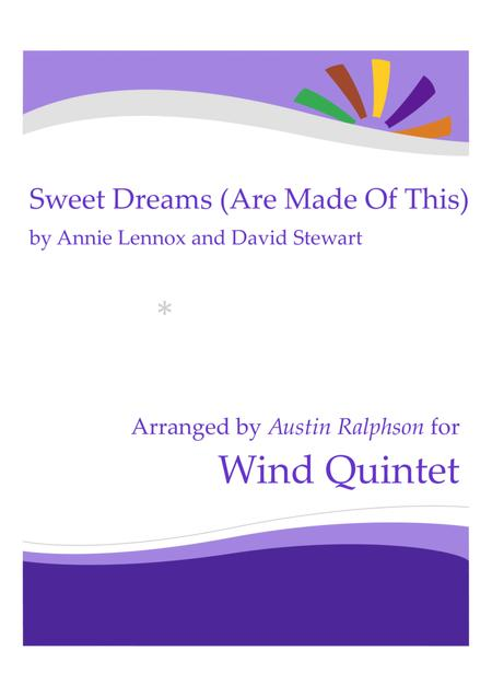 Sweet Dreams (Are Made Of This) - wind quintet