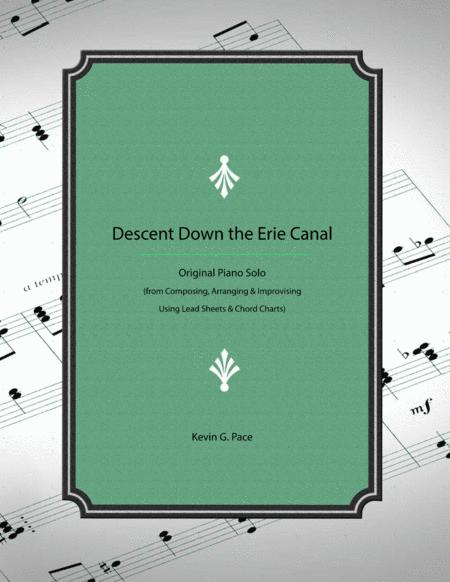 Descent Down the Erie Canal - how to develop a piano solo