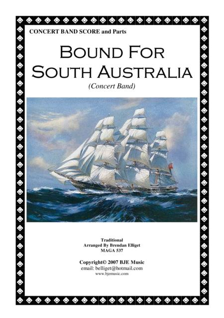 Download Bound For South Australia Concert Band Score And Parts PDF