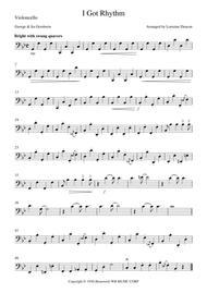 I Got Rhythm Gershwin String Trio Violin Viola Cello