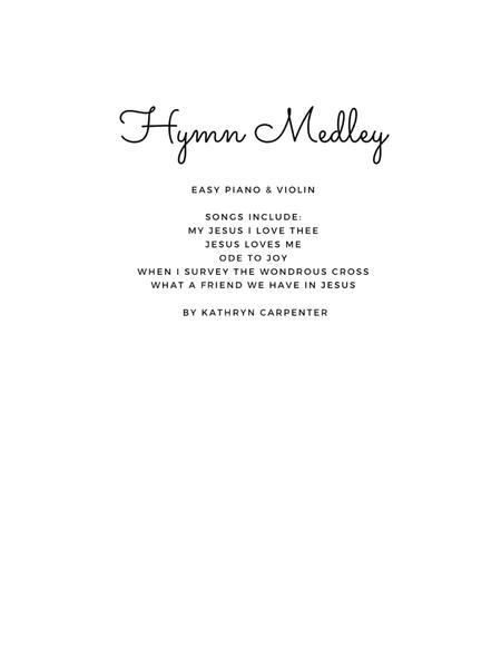 Hymn Medley (Piano & Violin)
