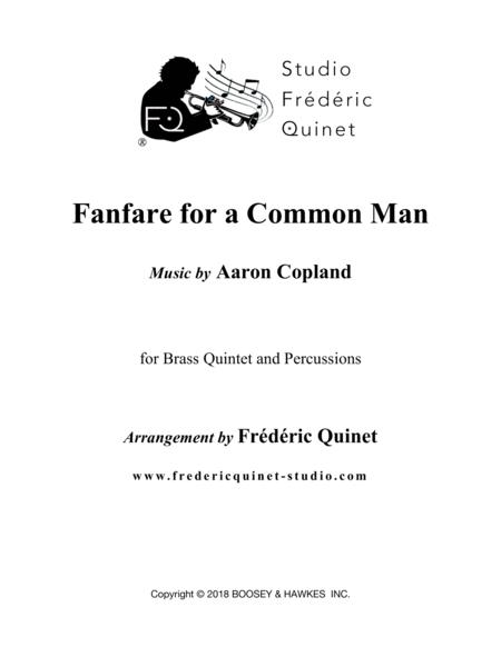 Fanfare For The Common Man for Brass Quintet