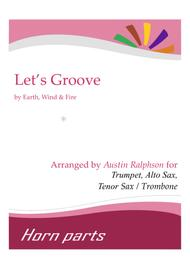 Let's Groove - horn parts