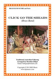 Click Go The Shears Brass Band Score and Parts PDF