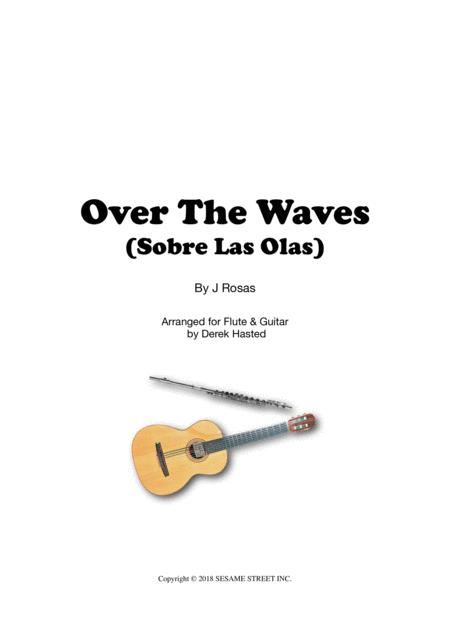 Over The Waves - Easy Flute & Guitar