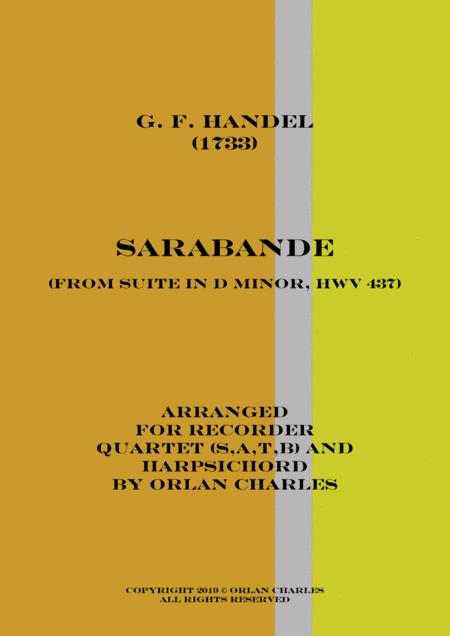 George Friderich Handel - Sarabande (from Suite in D Minor, HWV 437)