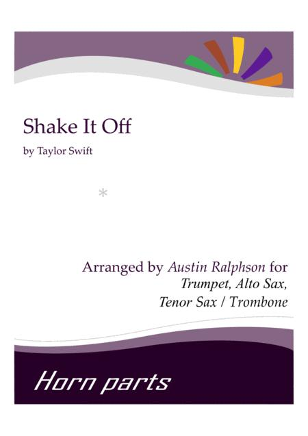 Shake It Off - horn parts
