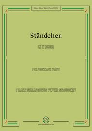 Schubert-Ständchen,in e minor,for Voice&Piano
