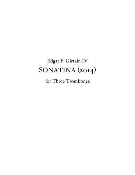 Sonatina for Three Trombones