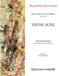 TWO COURANTES - Dances CLI (151) and CLII (152) from Terpsichore (Praetorius) for Wind Instruments