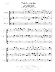 Tuxedo Junction for Saxophone trio