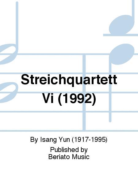 Streichquartett Vi (1992)