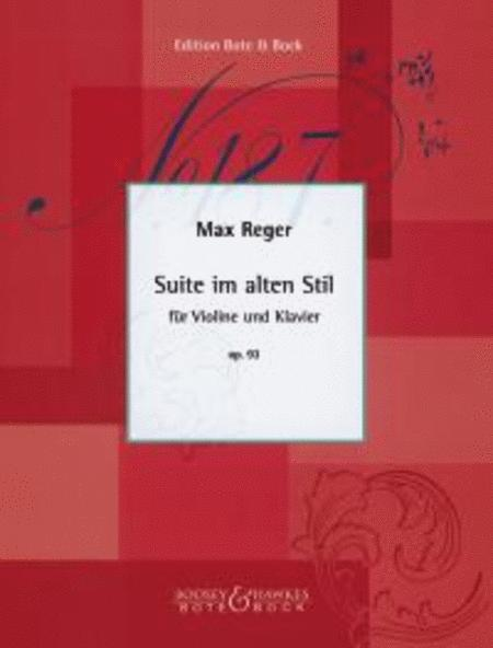 Suite in the old style op. 93