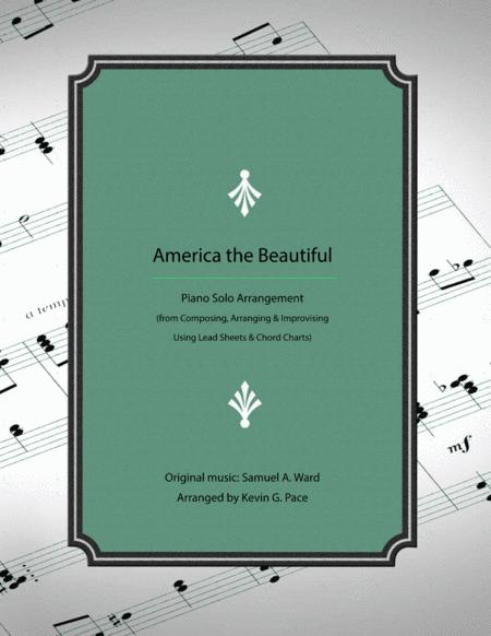 America the Beautiful - how to develop an advanced arrangement