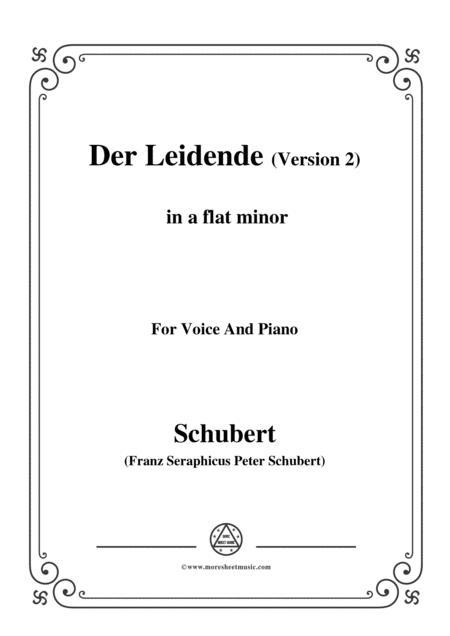 Schubert-Der Leidende (The Sufferer,Version 2),D.432,in a flat minor,for Voice&Piano