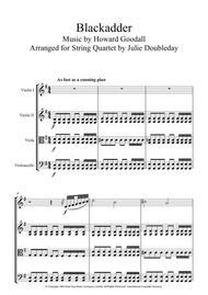 Blackadder Theme for String Quartet - Score and Parts