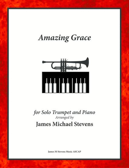 Amazing Grace - Solo Trumpet & Piano