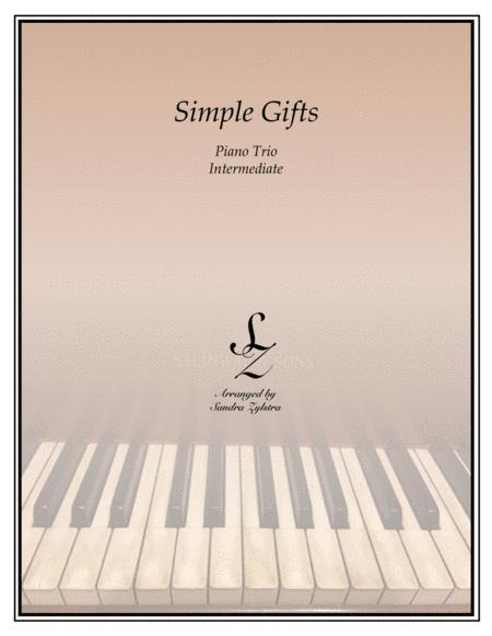Simple Gifts (1 piano, 6 hands trio)