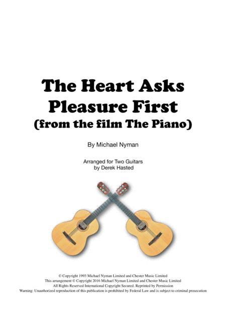 The Heart Asks Pleasure First - 2 guitars