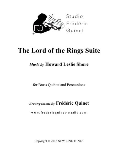 The Lord Of The Rings Suite for Brass Quintet